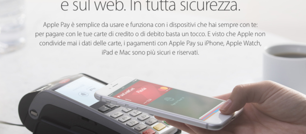 Apple Pay arriva ufficialmente in Italia