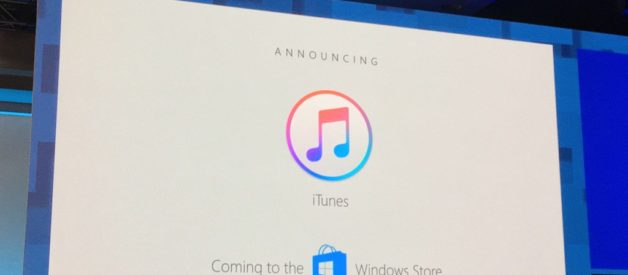 iTunes torna su Windows attraverso lo Store