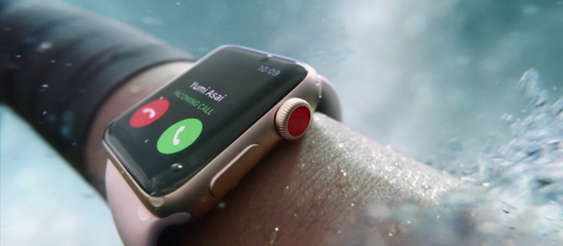 Apple Watch Series 3 con connettività cellulare